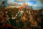 Ян Матейко. Ян III Собеский отправляет сообщение Папе о победе в битве за Вену (малая версия)