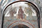 Андрей Рублев. Страшный суд: Богоматерь и ангелы