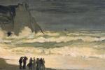 Клод Моне. Бурное море в Этрета