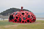 Яёи Кусама. Красная тыква на острове Наосима