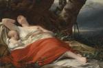 Фридрих фон Амерлинг. Спящая рыбачка. 1834