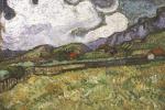 Винсент Ван Гог. Пшеничное поле за больницой Святого Павла