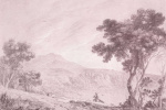 Ричард Уилсон. Пейзаж с Монте Каво