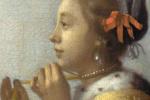 Ян Вермеер. Девушка с жемчужным ожерельем. Фрагмент