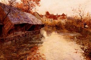 River scene in the morning