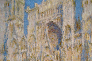 Клод Моне. Руанский собор, западный фасад, солнечный свет