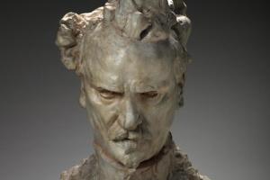 Auguste Rodin. Bust Of Rochefort