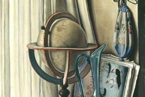 Франсуа-Эмиль Барро. Глобус и зеленый кувшин