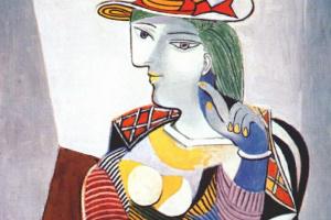 Пабло Пикассо. Сидящая женщина (Портрет Мари-Терез)