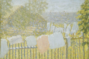 Linen on the fence