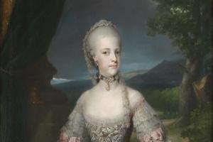 Антон Рафаэль Менгс. Портрет Марии Каролины Габсбург-Лоррен, королевы Неаполя