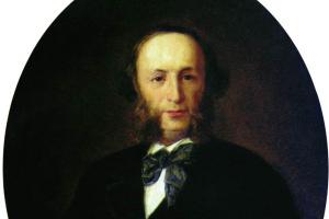 Иван Николаевич Крамской. Портрет художника И.К. Айвазовского