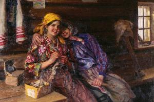 Подружки. 1930