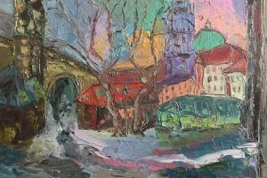 Gala Mell. Воспоминания о Праге. м/х орг