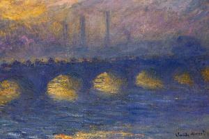 Клод Моне. Мост Ватерлоо, пасмурная погода