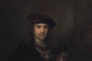 Рембрандт Харменс ван Рейн. Мужчина с мечом