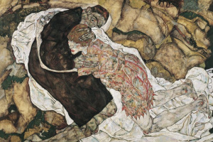 Egon Schiele. Death and the maiden