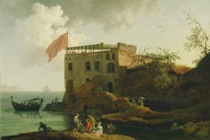 Пьер-Жак Вольер. Вид Гайолы. 1770-1790