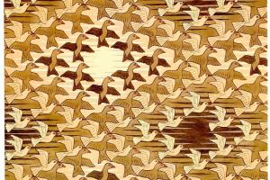 Мауриц Корнелис Эшер. Птицы в пространстве