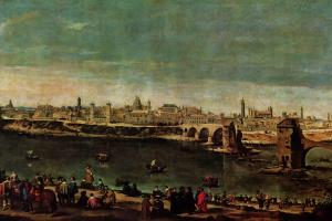 Juan Batista Martinez del Maso. View Of Zaragoza