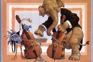 Animal orchestra basses