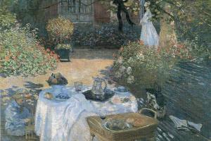 Обед в саду