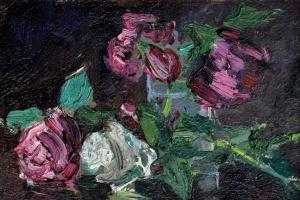 Николай Петрович Глущенко. Розы