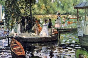 La Grenouillère (The Frog Pond)