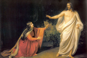 The appearance of Christ to Mary Magdalene after the resurrection