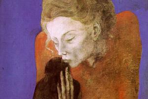 Пабло Пикассо. Женщина и ворон