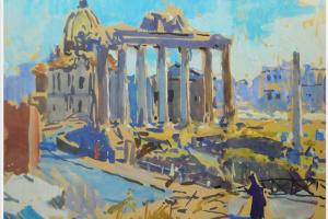 Руины римского форума