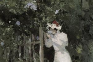 Константин Алексеевич Коровин. Летом. Сирень