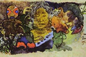 Paul Gauguin. Barbarian music
