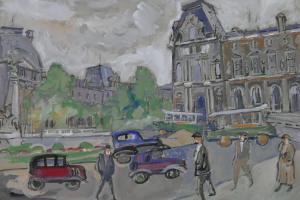 Paris. The urban landscape