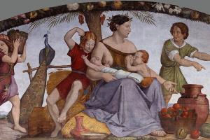 Иоганн Фридрих Овербек. Иосиф, проданный братьями в рабство (Дом Бартольди в Риме)