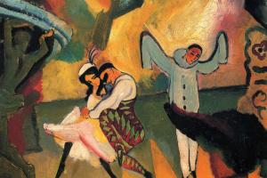 Август Маке. Русский балет