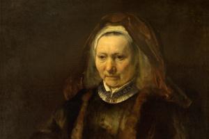 Рембрандт Харменс ван Рейн. Портрет пожилой женщины