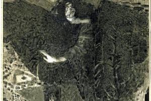 "Demon. Illustration to the poem by Mikhail Lermontov ""Demon"""