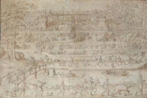 Antoine Karon. Le chateau d'Anet