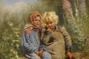 Константин Егорович Маковский. Крестьянские дети