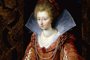 Питер Пауль Рубенс. Портрет Шарлотты Маргариты де Монморанси, принцессы Конде