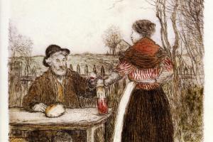 Жан-Франсуа Рафаэлли. Женщина и мужчина