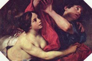 Карло Чиньяни. Иосиф и жена Потифара