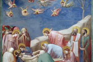 Оплакивание Христа. Сцены из жизни Христа