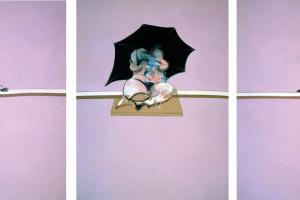 Фрэнсис Бэкон. Три эскиза человеческого тела
