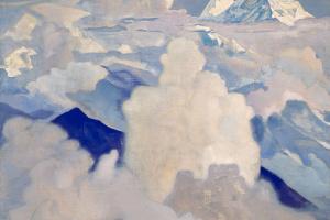 Белый и небесный. Из серии «Его страна»
