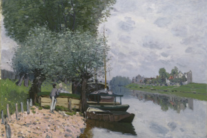 The Seine near Bougival