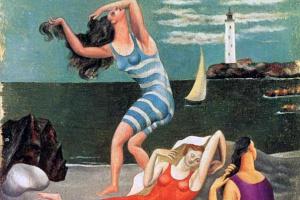 Pablo Picasso. Women Bathing