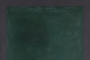 Марк Ротко. Зеленый на пурпурном