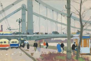 Василий Николаевич Сигорский. Крымский мост